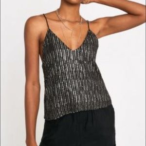 Sequin Cami- GNO New Years Top - Urban Outfitters